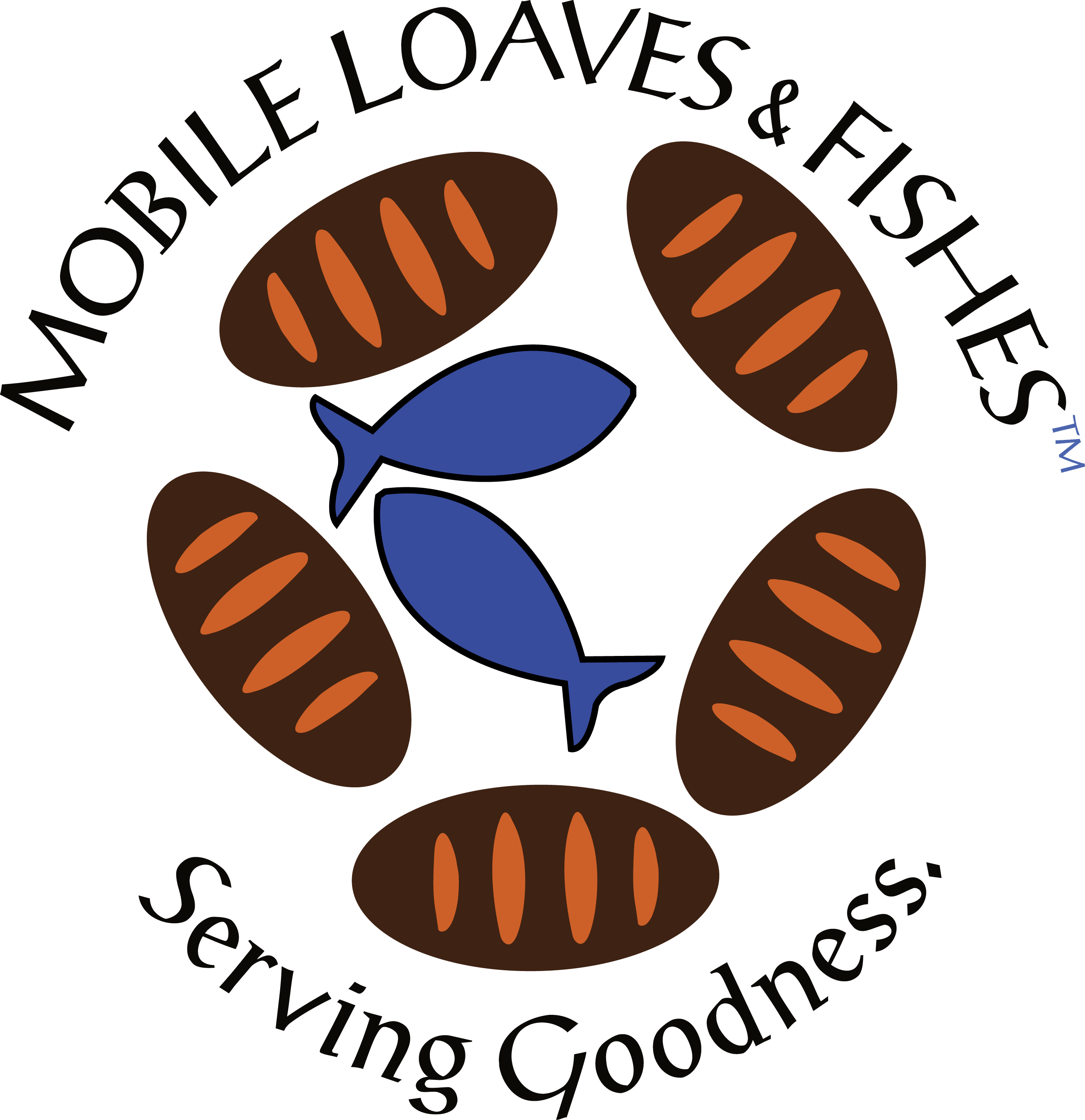 Logos mobile loaves fishes for Loaves and fishes volunteer